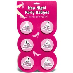 Hen Night Party Badges
