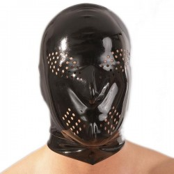 Latex Mask with Perforations