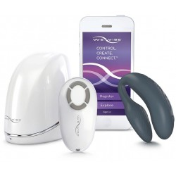 WeVibe 4 Plus Couples Clitoral and GSpot Vibrator Slate