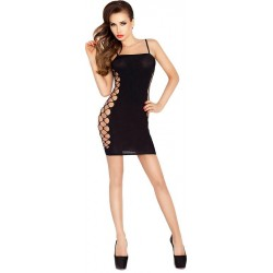 Passion Open Sided Dress Black