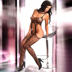 Corsetti Praline Body Stocking UK Size 812